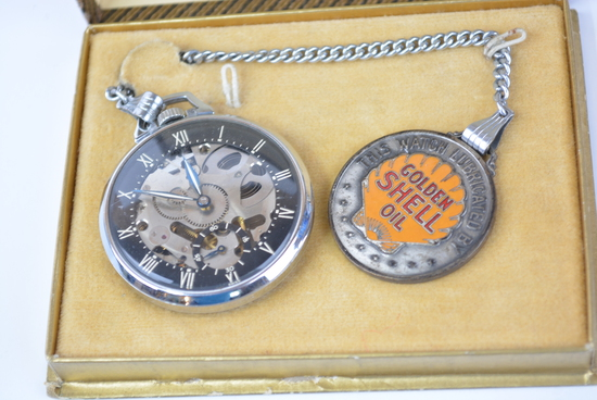 2 Online Only Watch Fobs & Automobilia, Petroliana