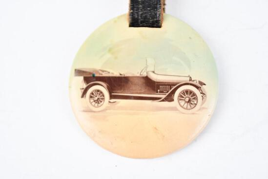 Buick Automobile Celluloid Watch Fob