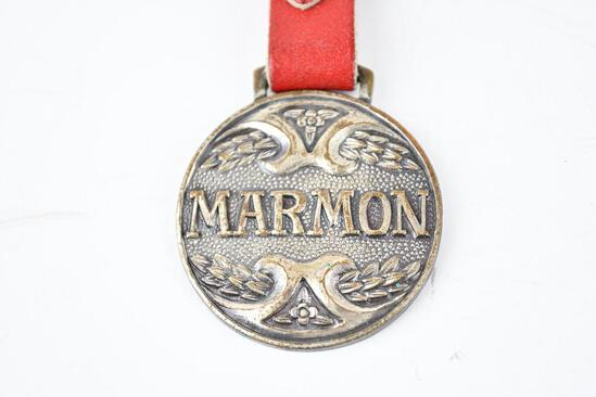 Marmon Automobile Metal Watch Fob