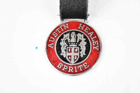 Austin Healey Automobile Enamel Metal Watch Fob