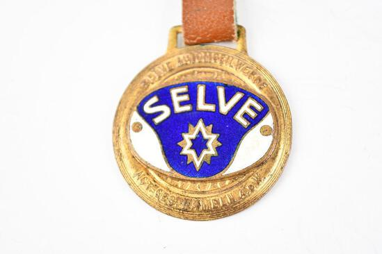 Selve Automobile Enamel Metal Watch Fob