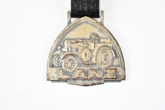 Lanz Tractor Company Metal Watch Fob