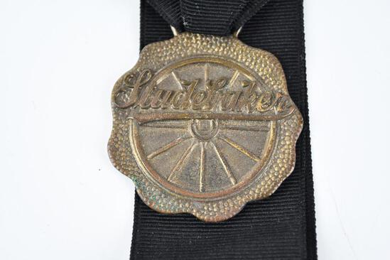 Studebaker Automobile Metal Watch Fob