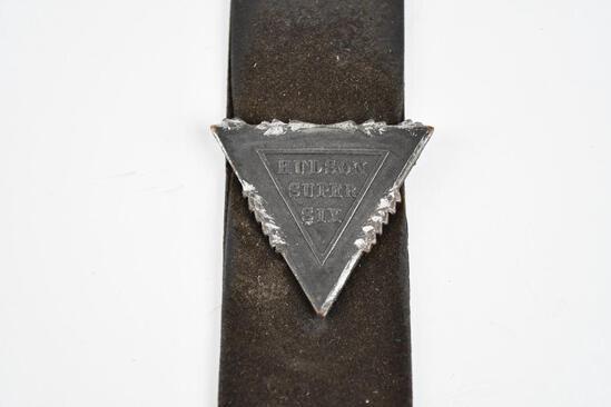 Hudson Automobile Metal Watch Fob