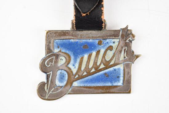 Buick Automobile Enamel Metal Watch Fob