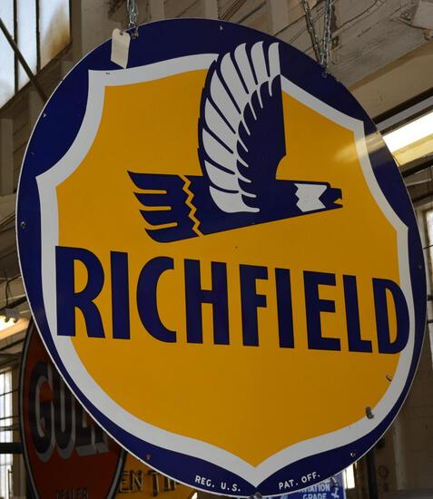 Richfield w/Art Deco Eagle ID Sign (TAC)