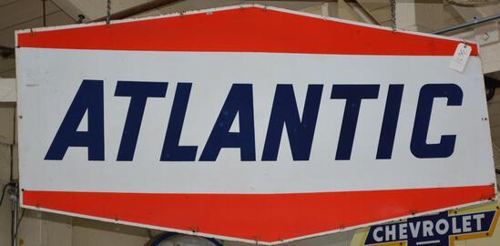 Atlantic Identification Porcelain Sign (TAC)