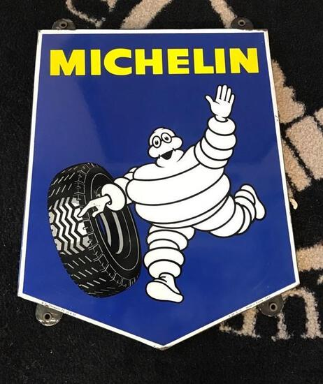Michelin w/ Bibendum Porcelian sign (TAC)