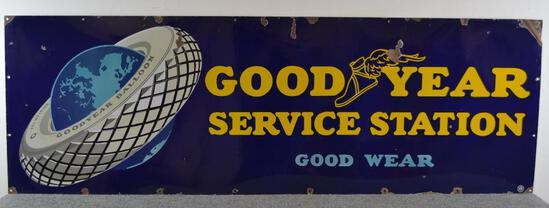 Goodyear Service Station Good Wear Sign (TAC)