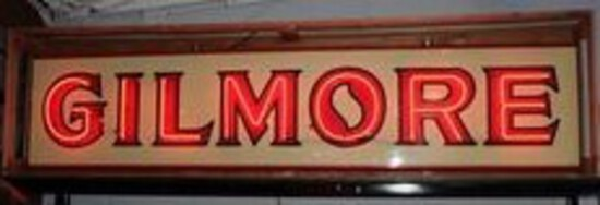 (update) Original Gilmore (gas) ID Porcelain Neon Sign TAC