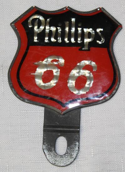 Phillips 66 License Plate Attachment (TAC)