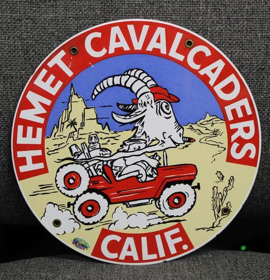 California's Hemet Cavalcades Truck Door Sign