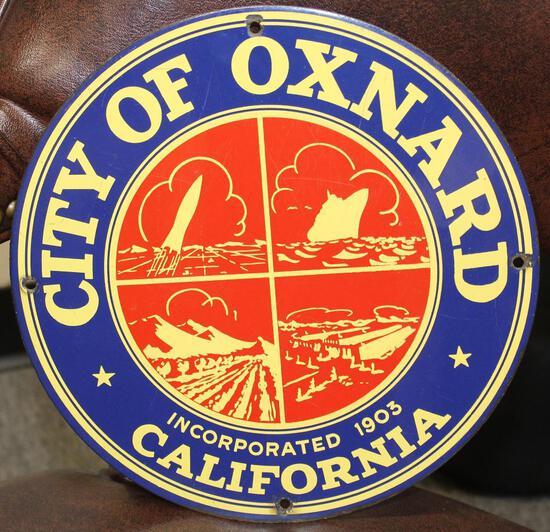 City of Oxnard California Truck Door Sign (TAC)