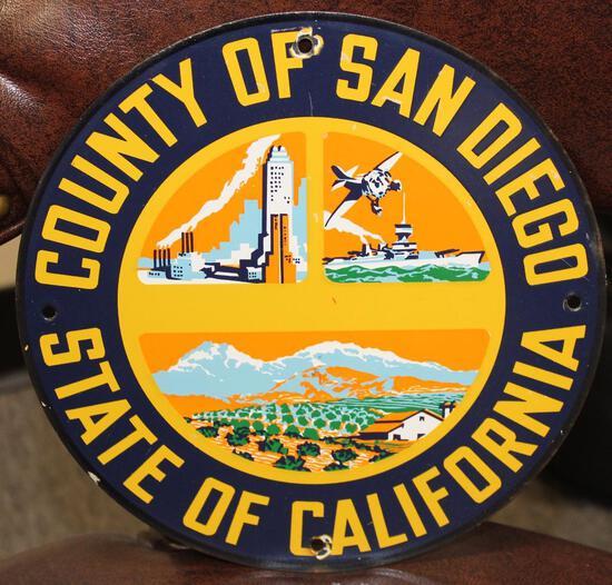 San Diego County California Truck Door Sign (TAC)