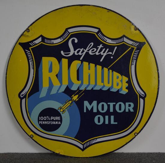 (Richfield) Richlube Safety! Motor Oil (TAC)
