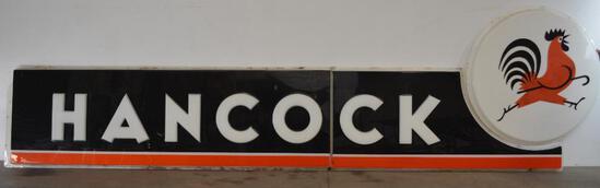 Hancock (Gasoline) Large Plastic Sign