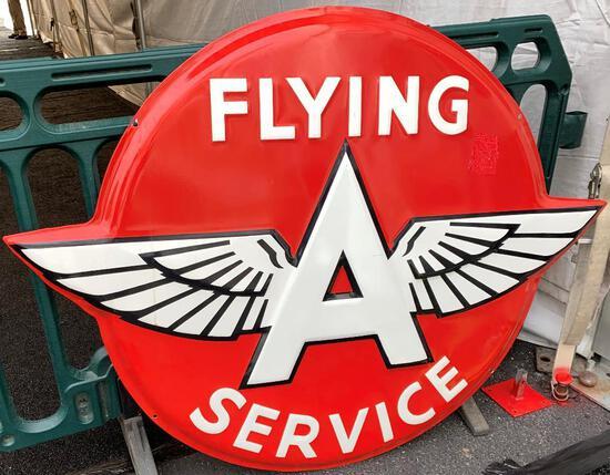 Flying A Service Porcelain Sign (TAC)