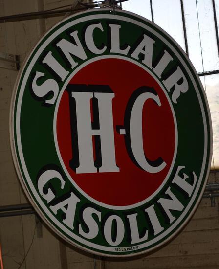 Sinclair H-C Gasoline ID Sign (TAC)