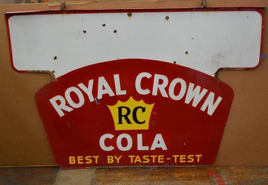 Royal Crown Cola Porcelain Sign (TAC)