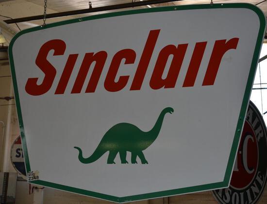 Sinclair w/Dino Logo ID Sign (TAC)