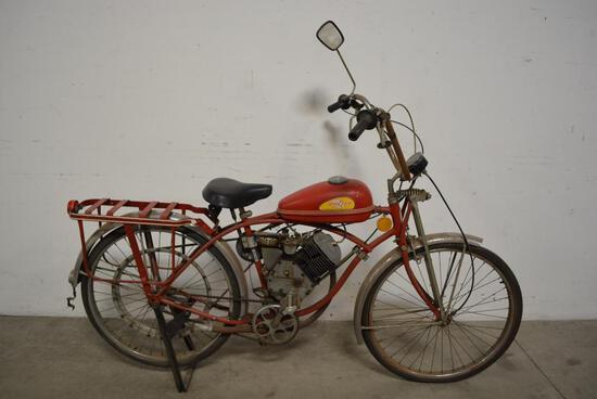 Original Schwinn Whizzer Motor Scooter Bike