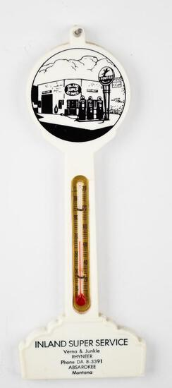 """Frontier """"Inland Super Service"""" Plastic Pole Thermometer"""