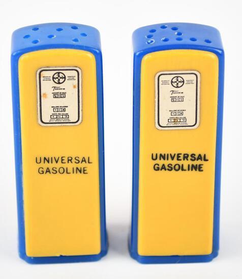 UNIVERSAL Plastic Gas Pump Salt & Pepper Shaker Set
