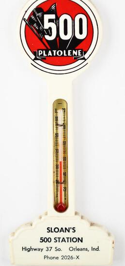 Platolene 500 w/logo Plastic Pole Thermometer