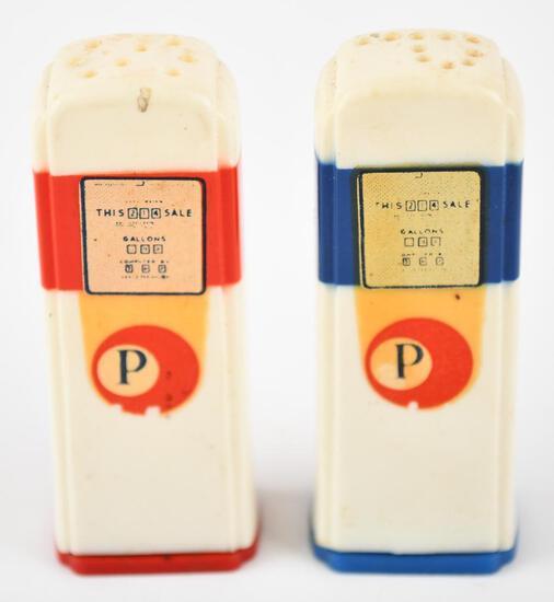 Pacific Plastic Gas Pump Salt & Pepper Shaker Set