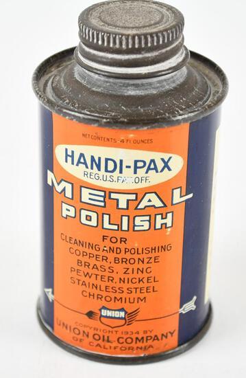 Union Handi-Pax Metal Polish 4oz Metal Can
