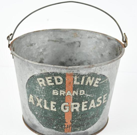 Union Redline Brand Axle Grease 10lb Metal Bucket