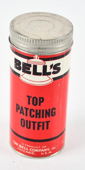 Bell's Top Patching Outfit Cardboard Container