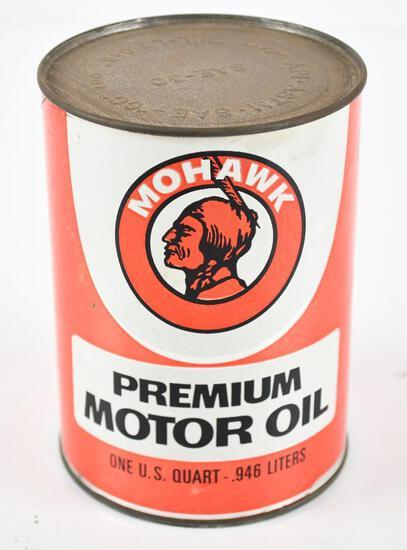 Mohawk Premium Motor OIl w/logo Quart Can