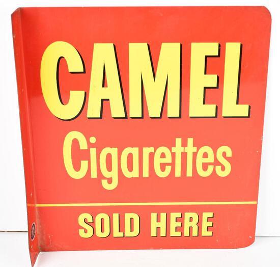 Camel Cirgarettes Sold Here Metal Sign