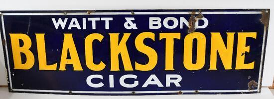Blackstone Cigar Porcelain Sign