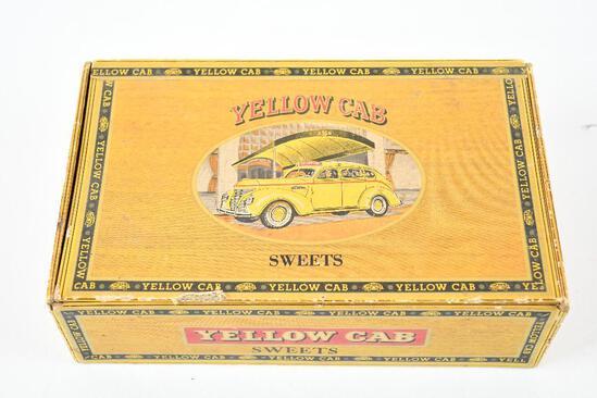Yellow Cab Sweet Havana Blend Cigar Box w/Logo