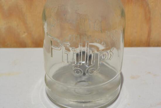 Rare Phillips 66 Motor Oil Bottle