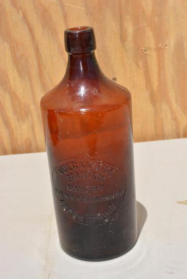 B.F. Goodrich Vulcanizing Solution Bottle