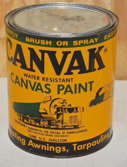 Canvak Canvas Paint Gallon Can