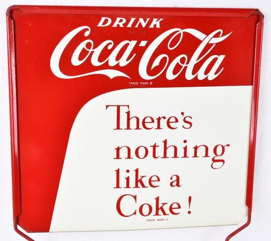 """Drink Coca-Cola """"There's nothing like a Coke! Metal Sign (TAC)"""