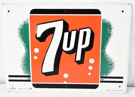 7up Metal Sign (TAC)