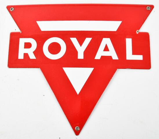 Royal (Gas) Porcelain Pump Sign (TAC)