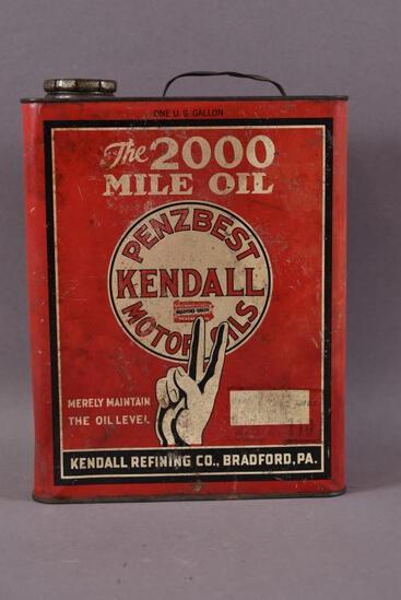 Kendall Penzbest Motor Oil One Gallon Can
