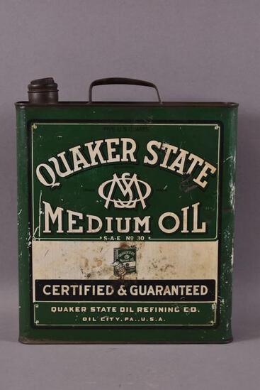 Quaker State Medium Oil One Gallon Can