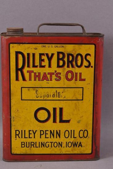 Riley Bros. Separator Oil One Gallon Can