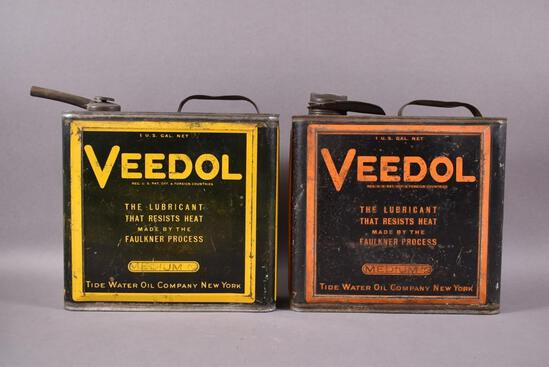 2-Veedol Motor OIl One Gallon Cans