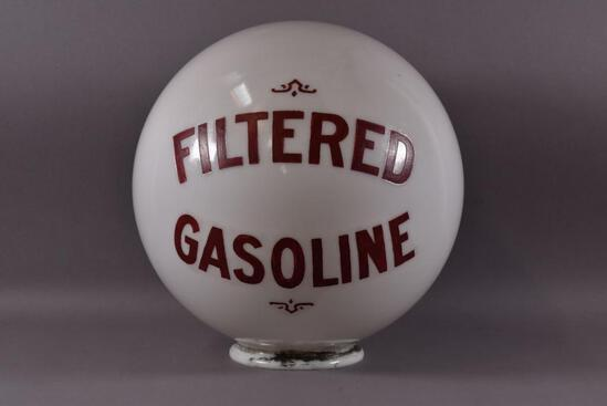 Filtered Gasoline One-Piece Etched Sphere