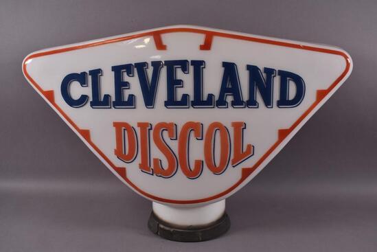 Cleveland Discol OPC Milk Glass Globe Body
