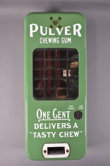 Pulver Chewing Gum Porcelain Coin-op Machine