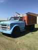 1975 Chevy single axle grain truck